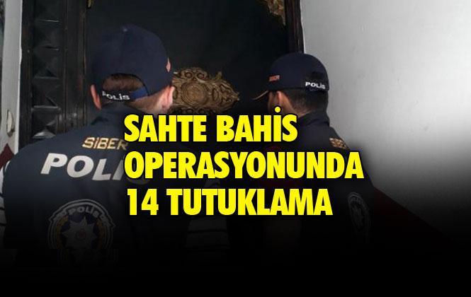 Mersin'de Hakim Karşısına Çıkan Sahte Bahis Şüphelilerinden 14'ü Tutuklandı, 8'i İse Adli Kontrol İle Serbest Bırakıldı