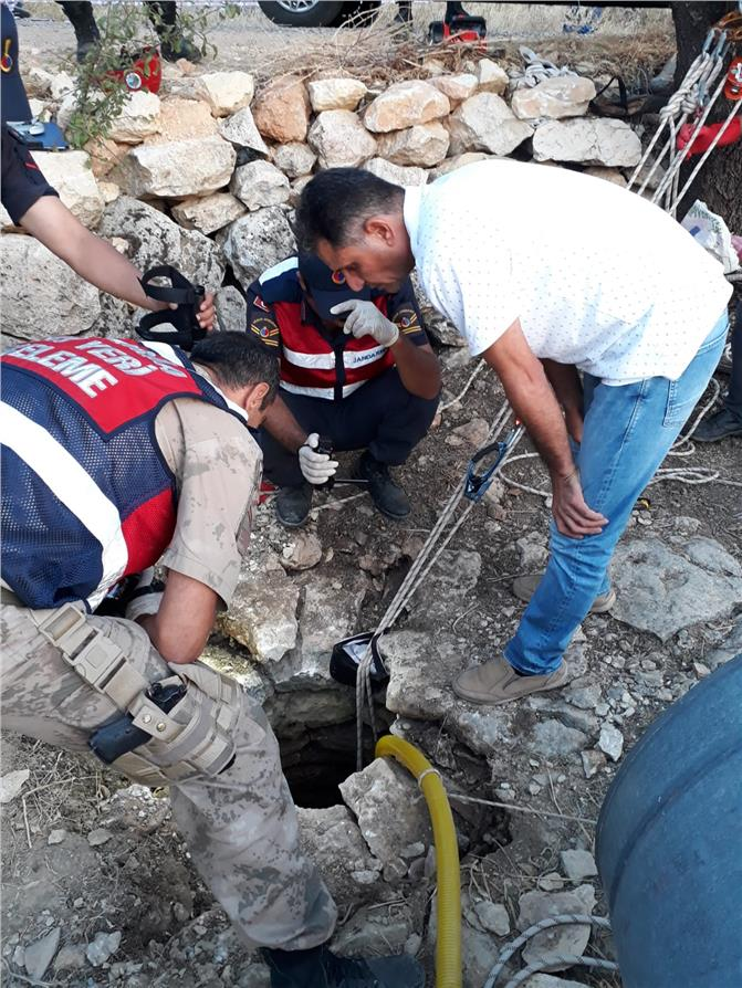 Gülnar'da Kuyuya Giren Ahmet Uzun Hayatını Kaybetti