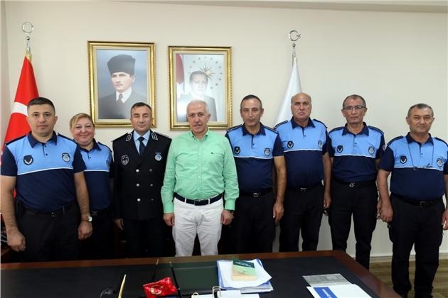Akdeniz Belediye Başkanı Gültak, Zabıta Müdürlüğü Personeliyle Buluştu