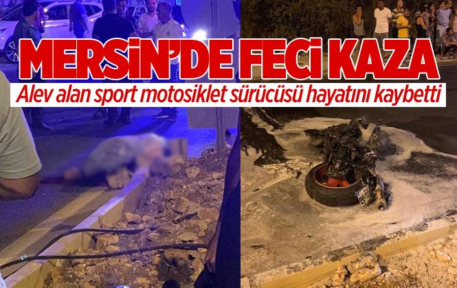 Mersin Erdemli'de Meydana Gelen Motor Kazasında 36 Yaşındaki Tarsuslu Genç Mahmut Sekitmez Hayatını Kaybetti