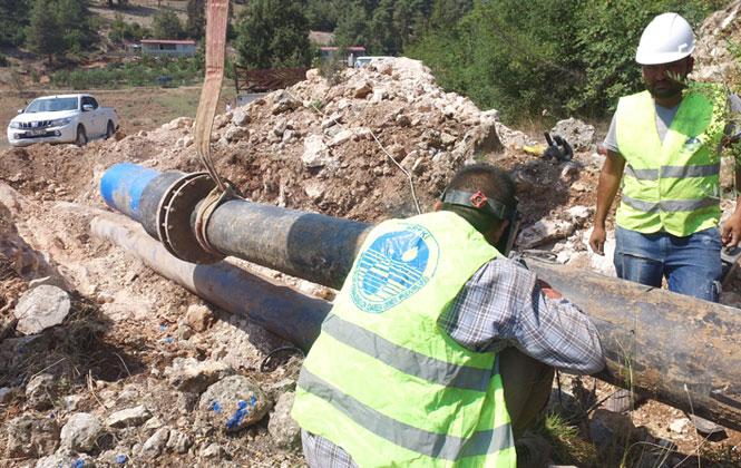 Mersin Tarsus'ta 20 Mahallenin Su Sorunu Çözüldü