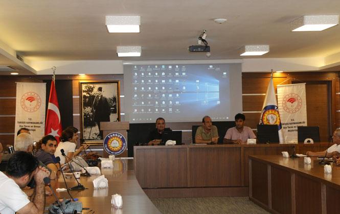 Mersin Tarsus'ta Zirai İlaç Bayi ve Toptancılara Yönelik Bilgilendirme Toplantısı Yapıldı