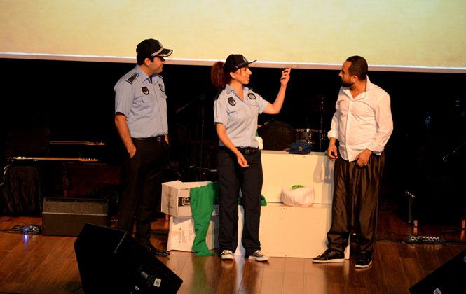 Mersin'de Zabıtalara Kültür-sanat Gecesi! Mersin Büyükşehir Zabıtaları Sanat İle Buluştu