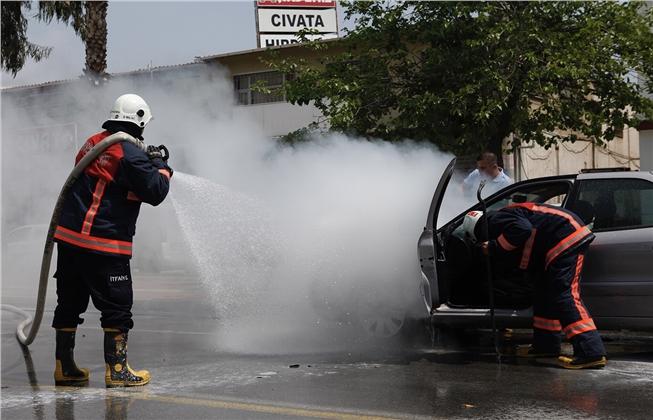 Araç Yangınlarının En Büyük Sebebi: İhmal! Araç İçinde Unutulan Malzemeler Tehlike Saçıyor