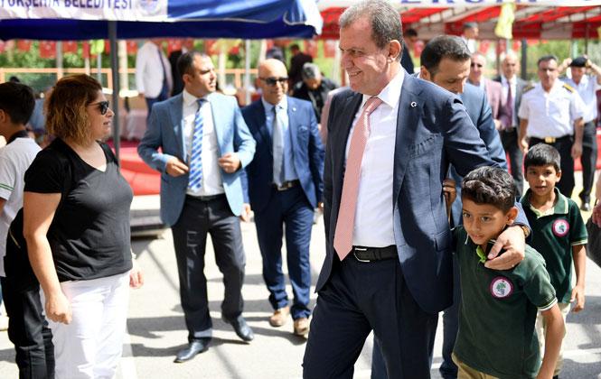 Mersin Büyükşehir Belediye Başkanı Vahap Seçer İlköğretim Haftası Kutlamalarına Katıldı