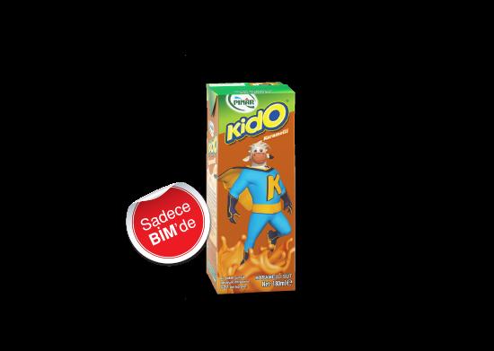 Karamelli Süt Pınar Kido 180 ml