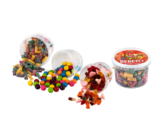 Yumuşak Şeker/ Yuvarlak Sakız Bebeto 300 g