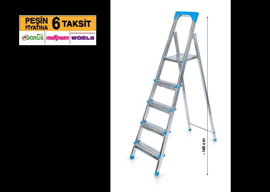 4+1 Basamaklı Merdiven