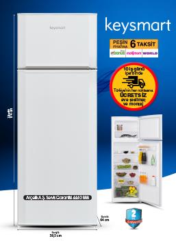 Buzdolabı Key 330 ST
