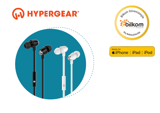 Mikrofonlu Stereo Kulaklık