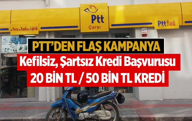 PTT Kredi Başvurusu Nasıl Oluyor? PTT'de Nasıl Alınır? PTT Kredi Şartları Nelerdir?