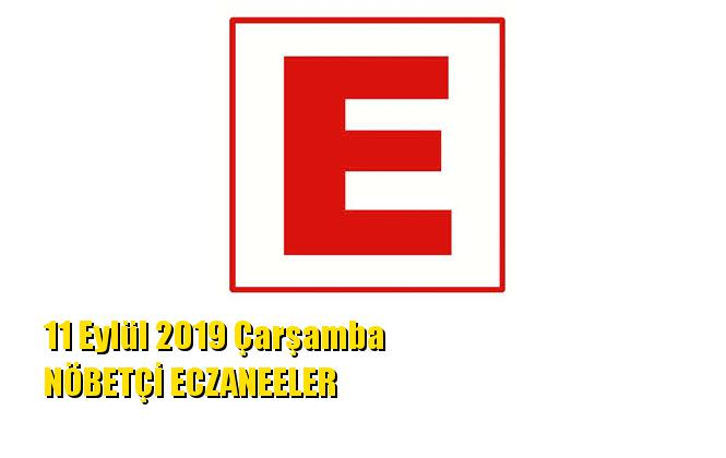 Mersin Nöbetçi Eczaneler 11 Eylül 2019 Çarşamba