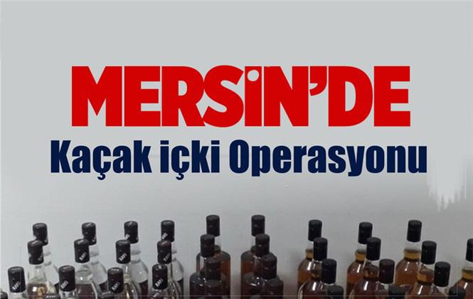 Mersin Çamlıyayla'da Sahte İçki Ele Geçirildi