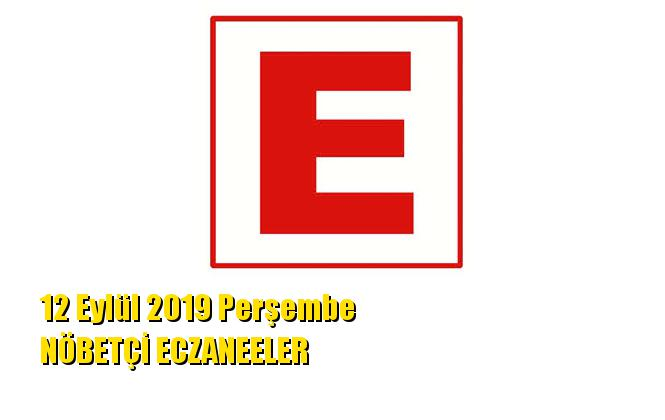 Mersin Nöbetçi Eczaneler 12 Eylül 2019 Perşembe