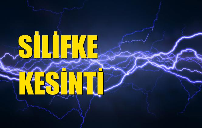 Silifke Elektrik Kesintisi 13 Eylül Cuma