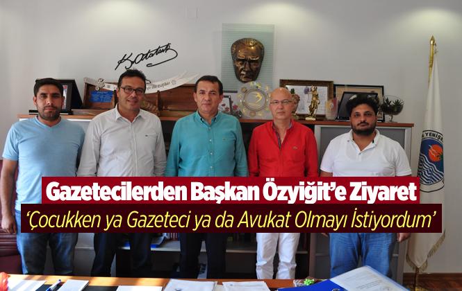Gazetecilerde Yenişehir Belediye Başkanı Abdullah Özyiğit'e Ziyaret