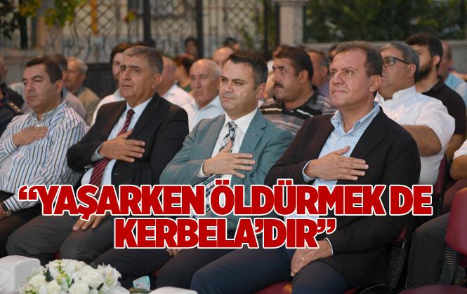 Başkan Seçer Tarsus'ta Aşure Etkinliğine Katıldı