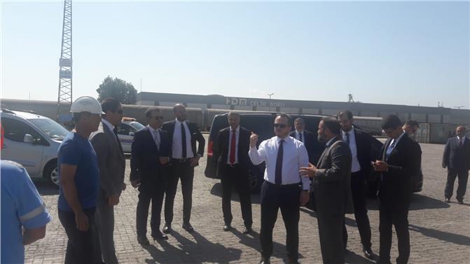 Cumhurbaşkanlığı Yatırım Ofisi Başkanı Arda Ermut Mersin Limanın Ziyaret Etti