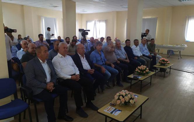 Mersin Oda/Borsa Başkanları Mut'ta Toplandı