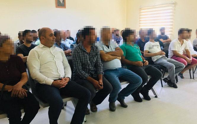 """Mersin Tarsus'ta Hükümlülere """"İlkyardım"""" Eğitimi Verildi"""