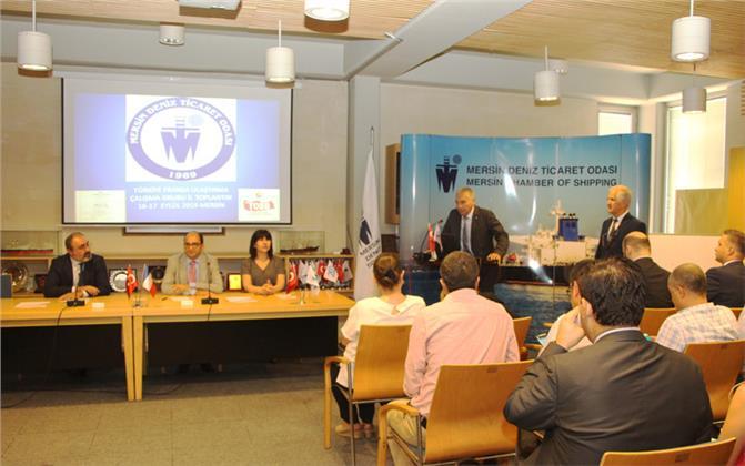 Türkiye - Fransa Ulaştırma Çalışma Grubu II. Toplantısı Mersin Deniz Ticaret Odası'nda Gerçekleştiriliyor