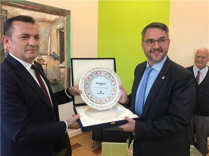 Yenişehir Belediye Başkanı Abdullah Özyiğit Kardeş Kentte