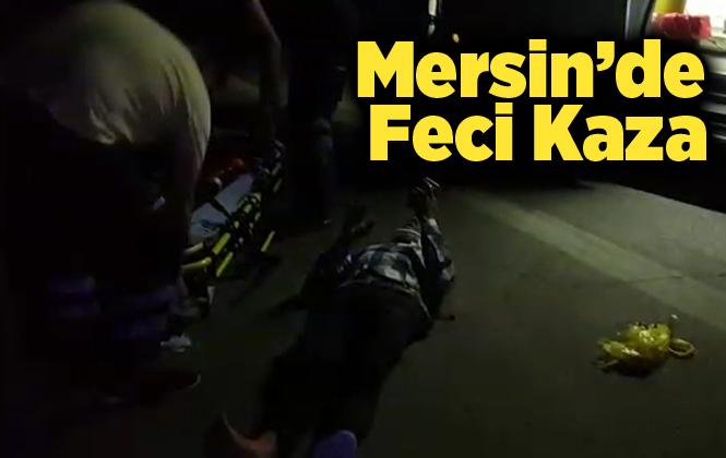 Mersin'de Feci Kazada 2 Kişi Yaralandı