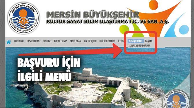 Mersin Büyükşehir Belediyesi KPSS'siz Önlisans ve Lisans Mezunu Büro Personeli Alımı İlanı Yayınlandı