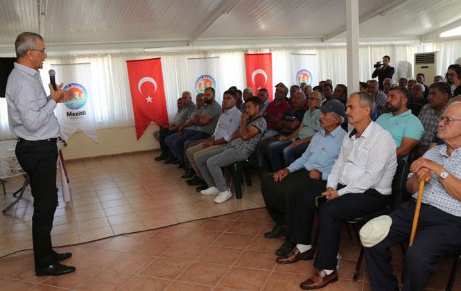 "Mezitlili Üreticiler ""Üretici Danışma Meclisi'ni"" Kurdu"