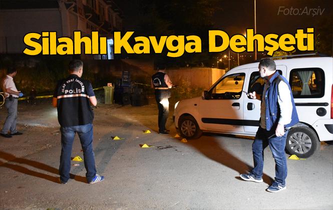 Mersin Tarsus'ta Silahlı Kavga 2 Yaralı