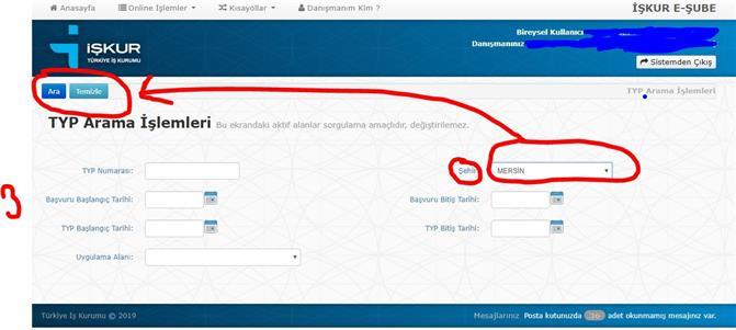 Mersin'de İşkur Okul TYP Başvuruları Başladı Mı? Mersin İşkur Okul TYP Başvurusu Yap. İnternetten TYP Başvuru Yap