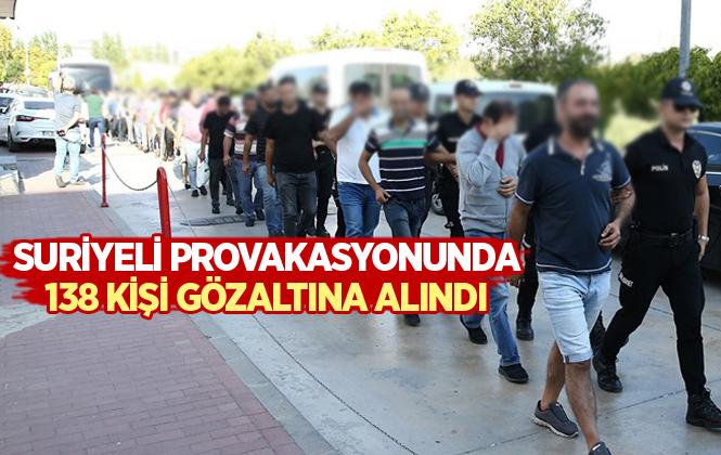 Adana'daki Provokasyonunda 138 Kişi Gözaltına Alındı