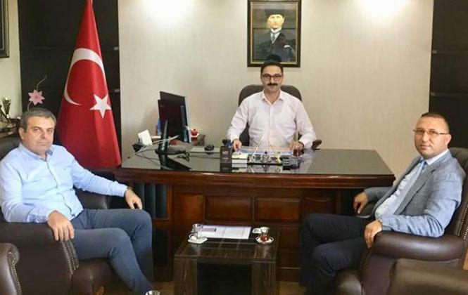 MESKİ Yetkililerinden Kaymakam Ayvat'a Ziyaret