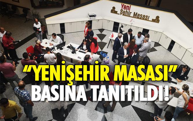 """""""Yenişehir Masası"""" Basına Tanıtılırken, Toplantıda """"Yenişehir Kart""""ın Duyurusu Yapıldı"""