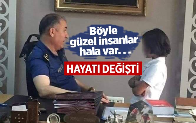 Bursa'da ilçe Emniyet Müdüründen Alkışlanacak Davranış