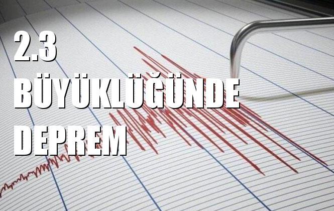 Merkez Üssü Sılıvrı Acıkları-ıstanbul (marmara Denızı) Olan 2.3 Büyüklüğünde Deprem Meydana Geldi