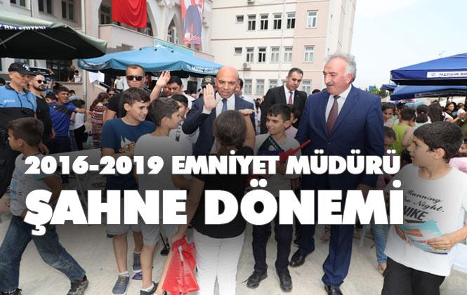 Mersin'de 2016-2019 Yılları Arası İl Emniyet Müdürü Mehmet Şahne Dönemi