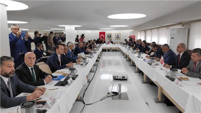 MESKİ, TBB Su ve Kanalizasyon İdareleri Genel Müdürler Toplantısına Katıldı