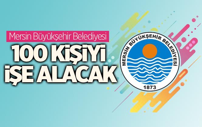 Mersin Büyükşehir Belediyesi 100 Kadını İşe Alacak