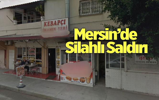 Mersin Tarsus Girne Mahallesinde, Bir Dükkana Silahlı Saldırı Olayı Yaşandı