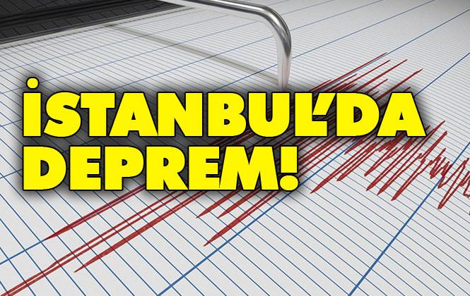 Marmara Denizi'nde Deprem! İstanbul Silivri Açıklarında 3.8 Büyüklüğünde Deprem Meydana Geldi