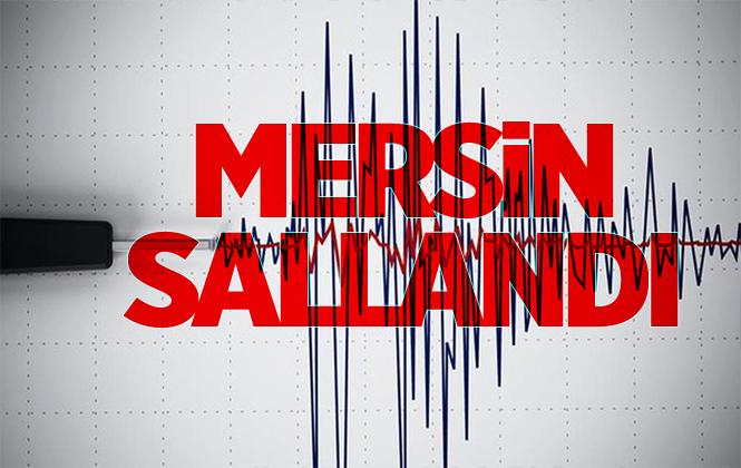 Mersin Açıklarında 1.7 Büyüklüğünde Deprem