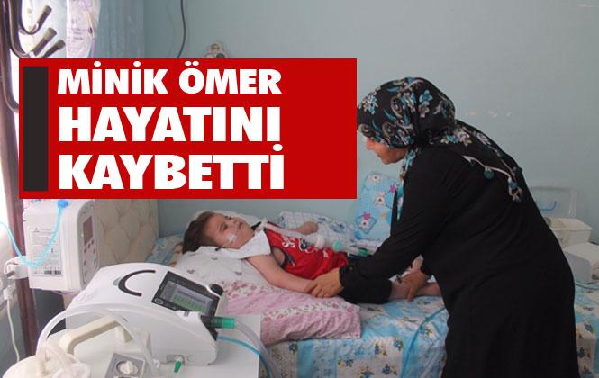 Mersin Tarsus'ta Yardım Bekleyen Minik Çocuk Ömer Kaygı Hayatını Kaybetti