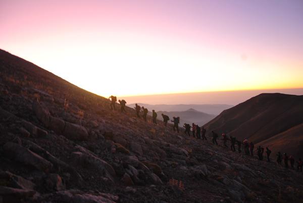 Dağcılar Mersin'de Buluştu