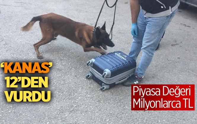 Mersin'de Yapılan Operasyona 3 Buçuk Kilo Uyuşturucu Ele Geçirildi