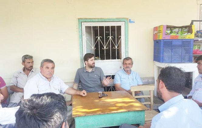 Ali Boltaç, Çokak'ta Muhtarlarla Bir Araya Geldi