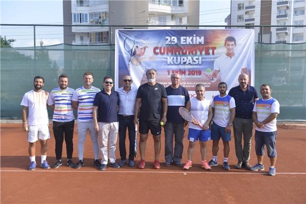 Cumhuriyet Kupası Tenis Turnuvası Başladı