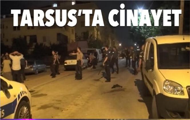 Mersin Tarsus Kırklarsıtı Mahallesinde Cinayet! Silahla Vurulan Motorsikletli Deniz Şahbaz Hayatını Kaybetti