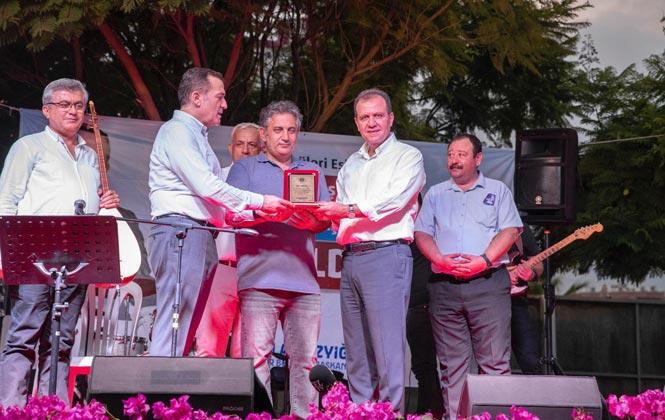 Başkan Seçer, Barış Heykeli'nin Açılışına Katıldı