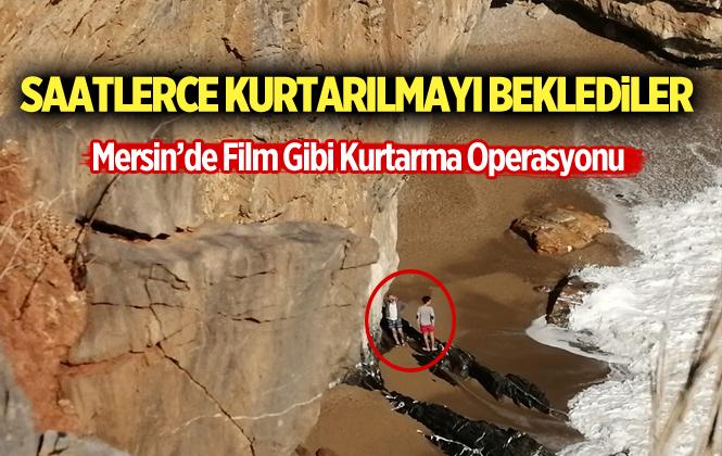 Mersin Gülnar Yanışlı Mağarasında Mahsur Kalan 2 Arkadaş Kurtarıldı